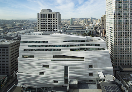 The new SFMOMA was designed by Norwegian firm Snøhetta.