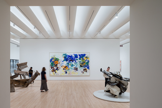 At SFMOMA's opening, 270 pieces from the Fisher Collection filled the fourth to the sixth floors.