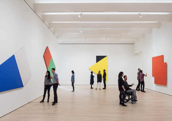 "One of the exhibits built upon the Fisher Collection was ""Approaching American Abstraction."""